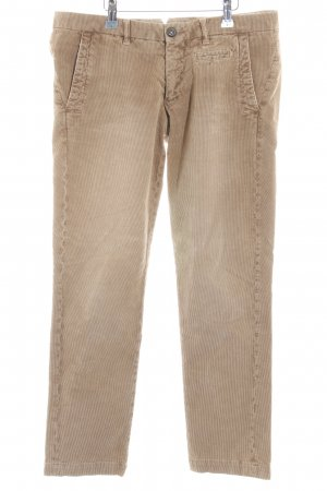 Monocrom Corduroy Trousers camel-light brown casual look