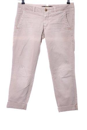 Monocrom Pantalón de color caqui rosa look casual