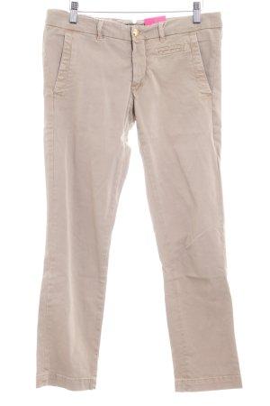 Monocrom Skinny Jeans beige Casual-Look