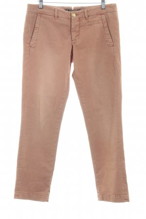 Monocrom Slim Jeans apricot meliert Casual-Look