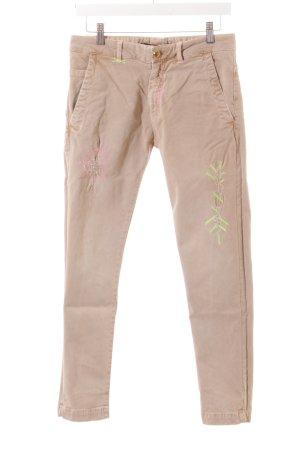 Monocrom Slim Jeans mehrfarbig Destroy-Optik