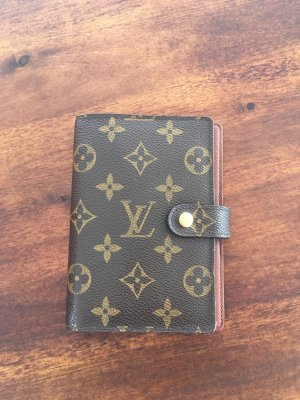 Monogram Canvas Agenda LV