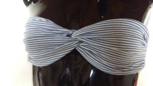 Monokini white-blue cotton