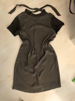 Monoprix Femme Paris Kleid Khaki Glitzer
