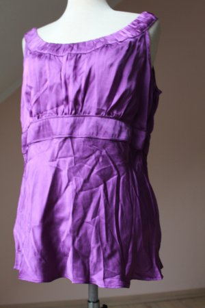Monsoon Silk Top lilac-lilac silk