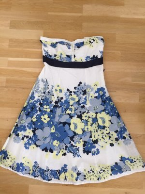 Monsoon Bandeaukleid Retro Blumen