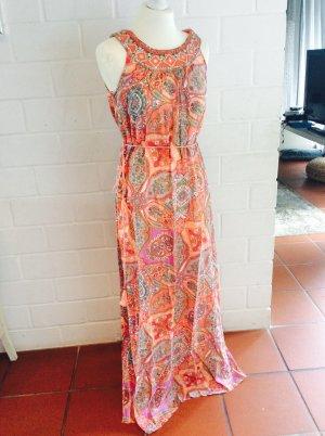 Monsoon Kleid Größe S / 36 Folklore Street Look Maxikleid