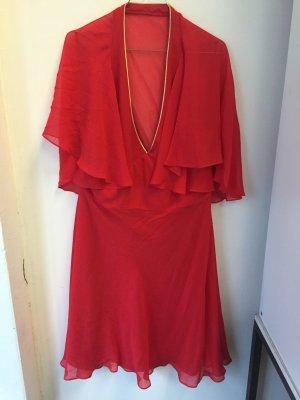 Monsoon Kleid rot neu Größe 46