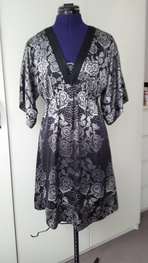 Monsoon silk kimono dress, size 36
