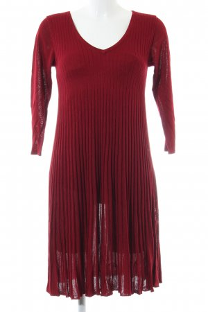 Monsoon Strickkleid rot Casual-Look