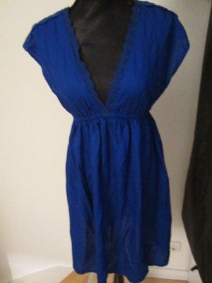 Monsson Accesorize Kleid Strandkleid Dress Blau NEU Tunika