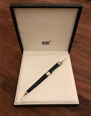 Montblanc Accessory black-light grey real gold
