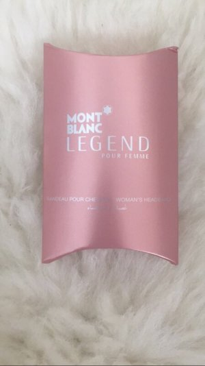Mont Blanc Headband in rosa/Silber
