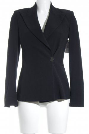 Montana Kurz-Blazer schwarz Business-Look
