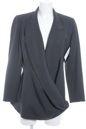 Montana Long-Blazer schwarz schlichter Stil