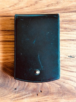 Montblanc Card Case multicolored leather