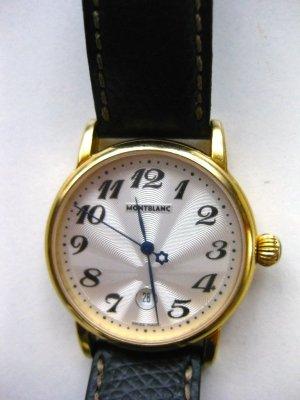 MONTBLANC Damen Lederarmband Uhr