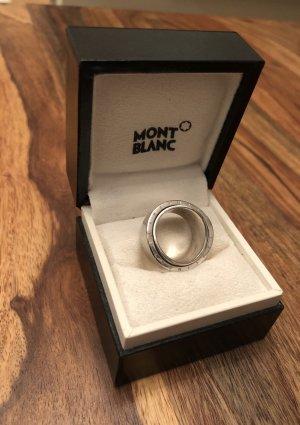 MONTBLANC DREHRING STERLING SILBER 925 Ring MONT BLANC PROFILE WISH Bague Gr.56