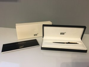 Montblanc Gold Kugelschreiber