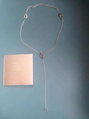 Montblanc Silber Kette Star Necklace ( Nr. 36639 )