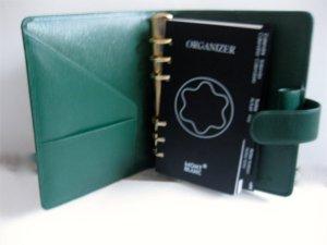 Montblanc Kaartetui bos Groen-groen Leer