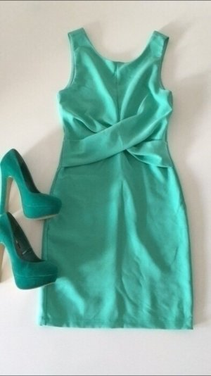 Monteau Kleid wickeloptik S