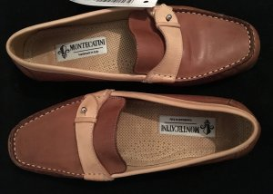 Moccasins multicolored leather
