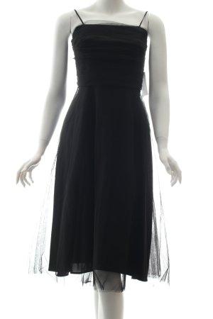 Montego A-Linien Kleid schwarz Party-Look