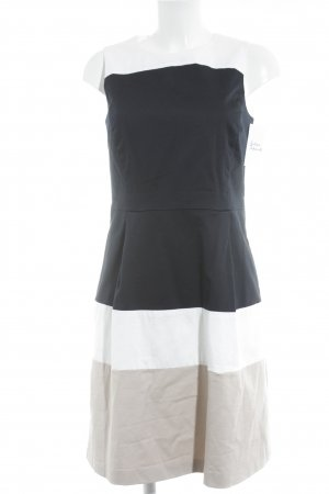 Montego A-Linien Kleid Streifenmuster klassischer Stil