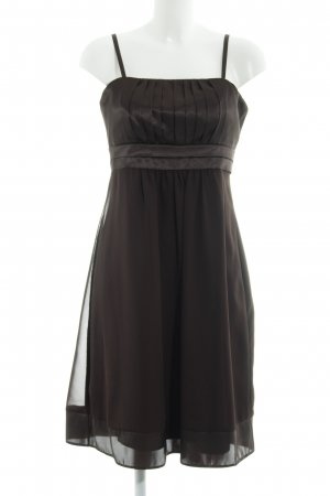 Montego Abendkleid dunkelbraun Elegant