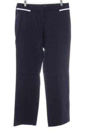 Montego Anzughose blau-weiß Business-Look