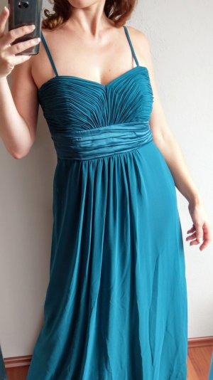 Montego Ballkleid Abendkleid Abikleid türkis blau Gr 40/42