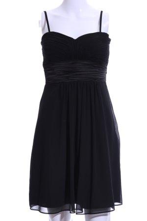 Montego Vestido bandeau negro elegante