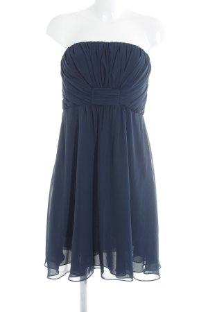 Montego Bandeaukleid dunkelblau Elegant