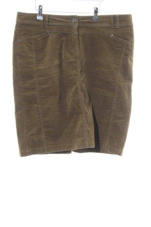 Montego Jupe cargo brun style décontracté