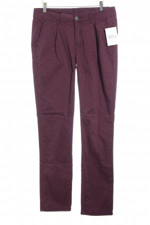 Montego Chinohose bordeauxrot Casual-Look