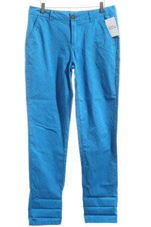 Montego Chinohose neonblau minimalistischer Stil