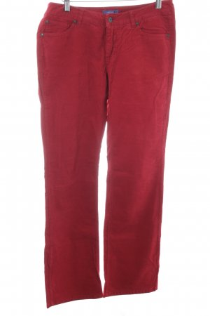Montego Cordhose rot Casual-Look