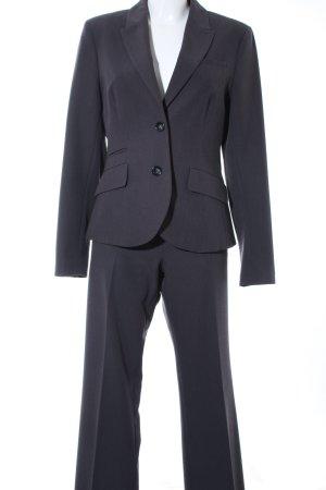 Montego Tailleur-pantalon gris anthracite style d'affaires