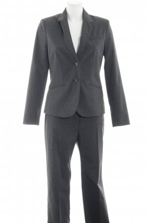 Montego Trouser Suit light grey check pattern business style
