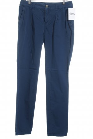 Montego Low-Rise Trousers cornflower blue casual look