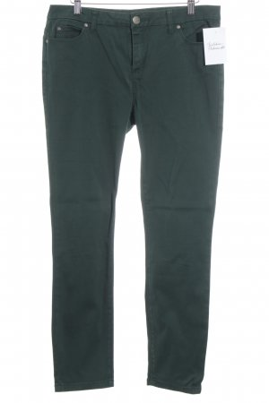 Montego Low-Rise Trousers forest green casual look
