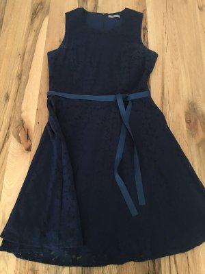 Montego Kleid Blumen Blau 38
