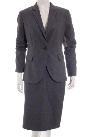 Montego Kostüm dunkelgrau Business-Look