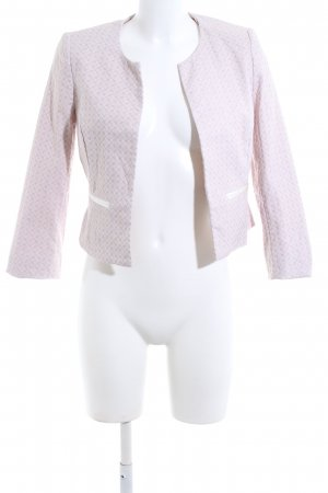 Montego Kurz-Blazer pink Allover-Druck Business-Look
