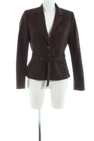 Montego Korte blazer bruin zakelijke stijl