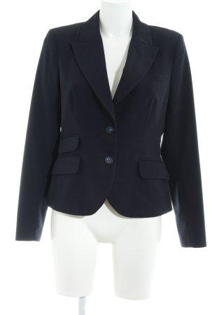 Montego Kurz-Blazer dunkelblau Business-Look