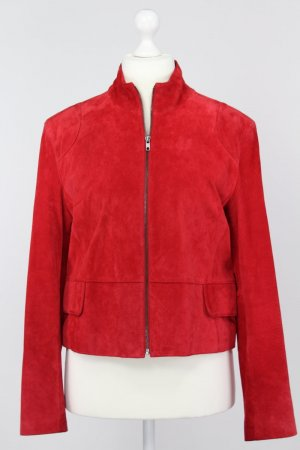 Montego Lederjacke rot Größe 42 1711171020997