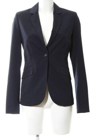 Montego Long-Blazer schwarz Business-Look
