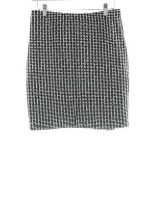 Montego Minirock schwarz-weiß Allover-Druck Casual-Look